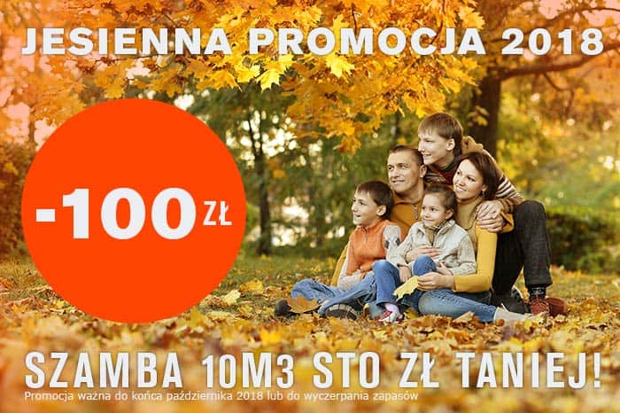 Promocja Szambo 10m3